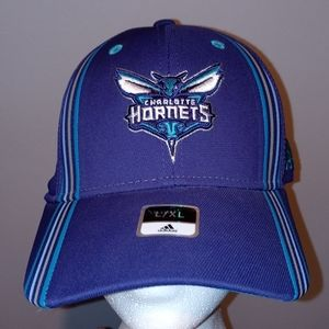 Brand new adidas charlotte hornets fitted hat